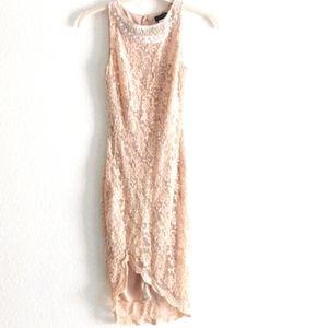 Venus Floral Lace Dress XS